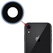 Back Camera Bezel with Lens Cover for iPhone XR(Blue)