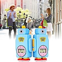Retevis RT36 Handheld Intercom Rechargeable Walkie Talkie 2 PCS PMR FRS Mini Kids Radio 0.5W 14CH VOX PTT Flashlight Civilian Handheld License-free Two Way Children Radio Set US Plug JY-M