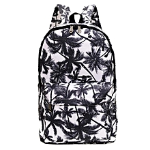 Women Men Canvas Backpack Bookbag Rucksack Travel School Shoulder Bag Satchel