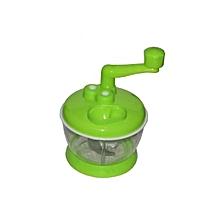 Cabbage Vegetable Cutter Chopper Shredder - Green.