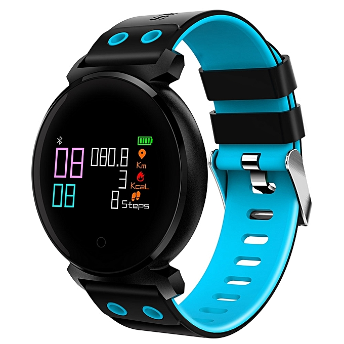 K2 Bluetooth 4 0 Nordic NRF52832 Chip Sleep / Heart Rate / Blood Pressure /  Blood Oxygen / Calories Monitor Remote Camera rt Watch for iOS / Android