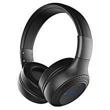 B20 Bluetooth Headphone Wireless Stereo Earphone Foldable Over Ear Headset 3.5mm AUX In Hands-free w/ Microphone