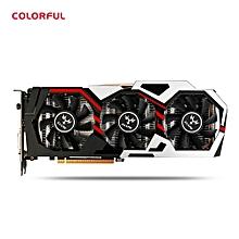 Leadsmart  GeForce iGame GTX 1080 UT V2 Top Colorful Graphics Card 256bit GDDR5X Computer Hardware with Cooler Fan
