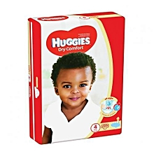 Dry Comfort Diapers, Size 4 (8-14kgs), (Count 60) - FS.