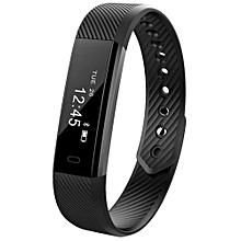 Hot sale ID115 Smart Bracelet Sport Pedometer Fitness Tracker Sleep Monitor Wristband Bluetooth 4.0 Wterproot Smartband For IOS Android