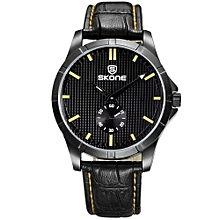 Brand Real Sub Dial Watches For Men Fashion Business Style Watch 3D Grain Face Military Sport Wristwatches Montres Hommes
