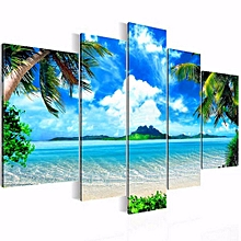 Unframed Modern Art Oil Painting Print Canvas Picture Home Wall Room Decoration - Multicolor