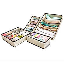 Closet Organizer for Bra, Socks, Neck Ties, Scarves, Underwear and Handkerchiefs Etc