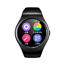 Multifunctional Bluetooth Smart Watch Full Circle Touch Screen Watch full black