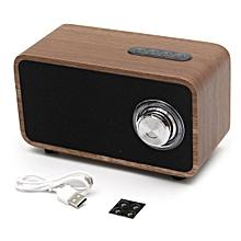 Digitalradio DAB+ Radio Wecker Tuner Bluetooth Lautsprecher LCD-Display Walnuss Dark brown