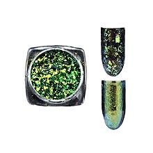 Fancyqube New Fashion 4 Multicolor Acrylic Nail Art Decoration Glitter Rhinestones Pearl Nail Stickers