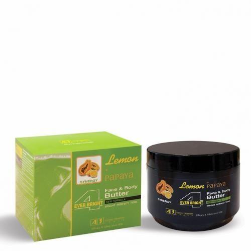 Lemon + Papaya Face & Body Butter - 400 ml