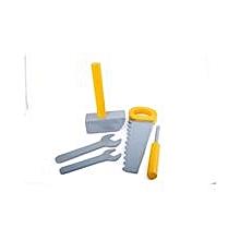 Juakali Tool Set - Yellow & Silver