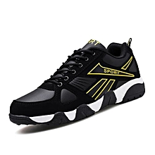Fashion Men's Sport Shoes Breathable Korean 2018 Men Running Shoes Trending Style Sneakers