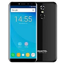 C8 3G Smartphone 2.5D Arc Screen MTK6580A 1.3GHz Quad Core Fingerprint Scanner 8.0MP Rear Camera-BLACK