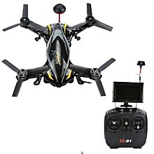 CX-91A 5.8G FPV Jumper HD Camera 2.4G 4 Channel 6 Axis Gyro Quadcopter RTF Black