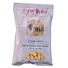 Cholesterol Free Dry Roasted and Salted Cashew Nuts, 250g