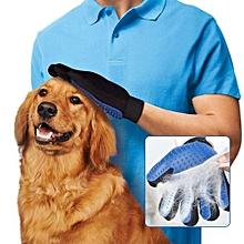 True Touch Five Finger Deshedding Brush Glove Pet Gentle Efficient Massage Grooming