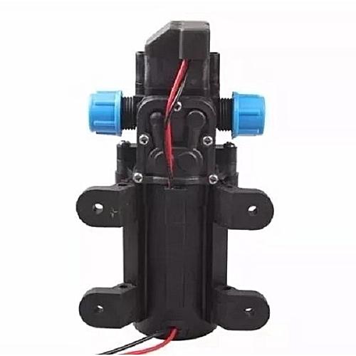 DC 12V 60W Mini Micro Diaphragm High Pressure Water Pump Automatic Switch  5L/min