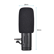 Mobile Phone Microphone Universal Mini Portable Video Record Microphone for DSLR Cameras