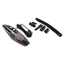 Mini Portable 12V 120W Car Vehicle Handheld Auto Part Vacuum Cleaner Wet & Dry Black