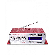 HY-400 - Stereo Power Amplifier Hi-Fi Bass Audio