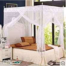 Mosquito Net with Metallic stand 5*6 - white
