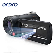 """ORDRO HDV-D395 HD 1080P 18X 3.0""""Touch Screen Digital Video Camera Recorder Touch screen Remote Professional Camcorder KANWORLD"""