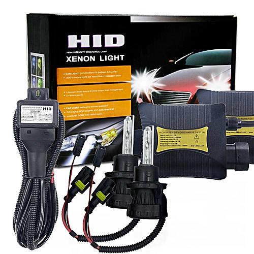 55W H13 9008 4300K HID Xenon Light Conversion Kit With Slim Ballast High Intensity