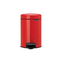 112089 - Newicon Pedal Bin 5L - Passion Red