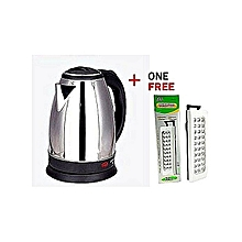Scarlett Electric Kettle + FREE RECHARGEABLE LAMP (DP-30) .