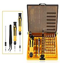 Professional 45 in 1 Precise Screwdriver Set Steel Hardware Repair Tool Kit