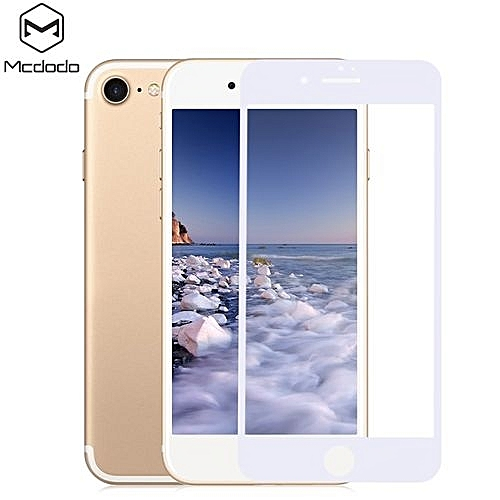 Mcdodo 3D Tempered Glass Anti-blue Soft Edge Full Screen Protective Film for iPhone 7