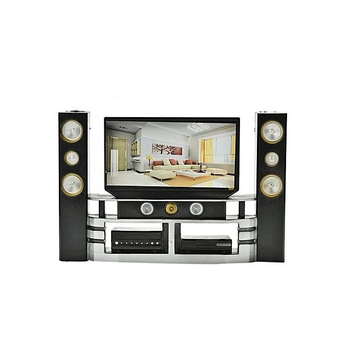 Buy UNIVERSAL Mini Hi-Fi 1:6 TV Home Theater Cabinet Set Combo For ...