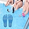Invisible Anti-slip Summer Beach Sandals Insole Size: S, Length: 21 Cm(blue)