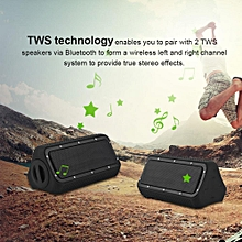 Portable Speakers Outdoor Bluetooth CSR4.2+EDR Speaker Wireless Waterproof Sandproof TWS Wireless Stereo