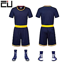 Customized Blank Youth Men's Basketball Team Sports Jersey -Navy Blue(GY-6136)