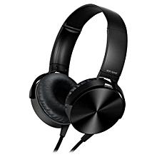 Extra Bass Headphones - Black