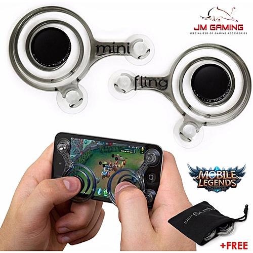 Generic GAMING JOYSTICK 3D Analogy Thumb Joy Stick Fling Mini Joystick Mobile Controller For Mobile Legend, Fifa, 王者荣耀 & Shooting game MLLQJ