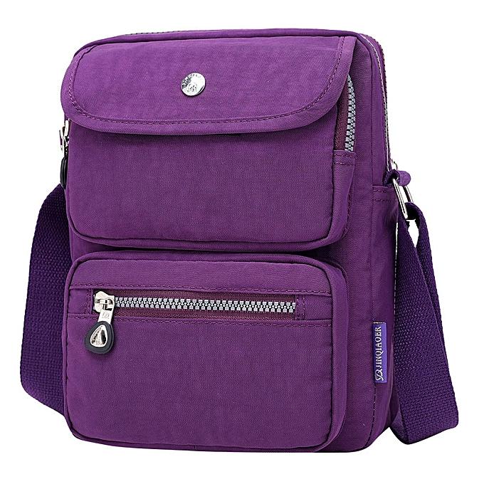jiuhap store Womens Ladies Canvas Backpack Shoulder Book School Bag Travel  Rucksack Satchel-Wine e69c503b27