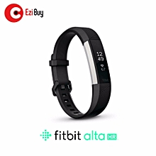"Fitbit Alta HR Heart Rate + Fitness Wristband Small 5.5"" - 6.7"" (BLACK) BDZ Mall"