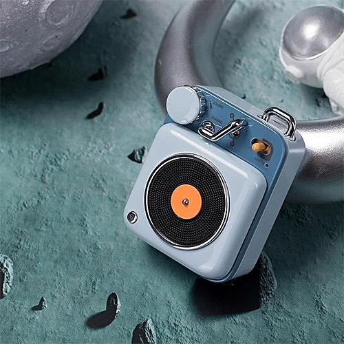 Xiaomi Cat King Atomic Mini Record Player B612 Intelligent Audio Portable  Zinc Aluminum Shell Speaker In Stock D5(Blue) LANGL
