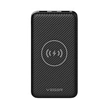 Wireless Portable Charger 20000mAh External Battery Power Bank - Dark Grey