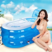Adult Child Portable Warm Bathtub Inflatable Bath Tub Electric Air Pump Blow Up