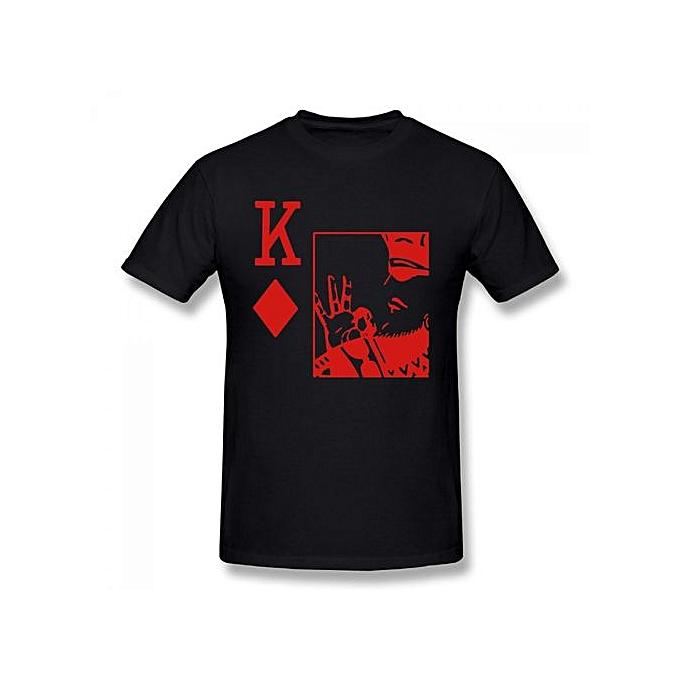 aad7365ca362 King Of Diamonds Kappa Alpha Psi Summer Basic Casual Short Cotton T-Shirt (Regular