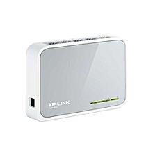 Desktop Switch - 5-Port - 10/100Mbps - TL-SF1005D - White