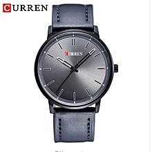 Men Watches 2017 Top Selling Fashion Male Clock Rose Gold Quartz Watch Men Business Wristwatch Relogio Masculino