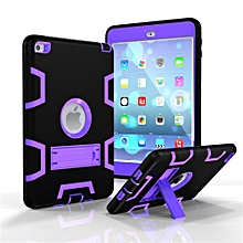 Apple iPad MINI 1/2/3 Case Full Body Shockproof Waterproof Dust-proof Hybrid Kickstand Protective Case with Screen Protector for iPad MINI 1/2/3 HSL-G