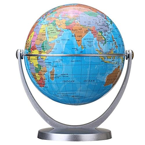 Atlas Globe Map.Universal 360 Rotating Globes Earth Ocean Globe World Geography Map