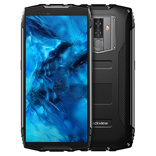 BV6800 Pro Rugged Phone, 4GB+64GB, IP68 Waterproof Dustproof Shockproof, 6580mAh Battery, Face ID & Fingerprint Identification, 5.7 inch Android 8.0 MTK6750T Octa Core up to 1.5GHz, NFC, Wireless Charging, Network: 4G(Black)